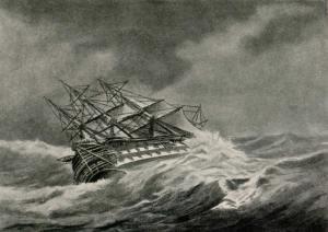 Agamemnon-in-storm