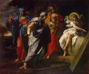 Mark 16.1-8 resurrection-carracci