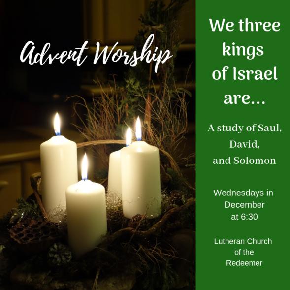 Advent Worship 2018